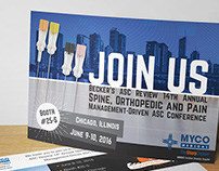 Conference Postcard for MYCO Medical