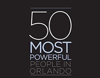 Orlando magazine, 50 Most Powerful, July 2013