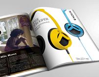 Nixon Headphones | Graphic Layout