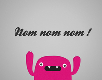 "Free wallpaper "" Mr. Nom Nom Nom"""