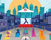 Art Direction & Branding: Wanderlust Yoga in the City