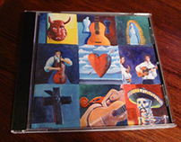 CD artwork design for Trio Los Vigilantes