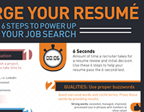 ManpowerGroup Resume Infographic