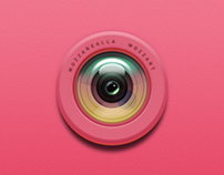 Camera app icon for IOS