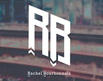 Identité visuelle Rachel Bourbonnais