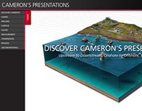 Cameron Presentation Menu