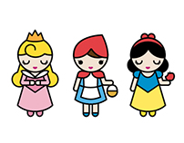 Princesses and Girls in the Tales