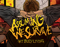 Album art for Assuming We Survive - Get Busy Living EP