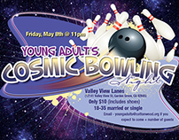 Young Adults Cosmic Bowling Night