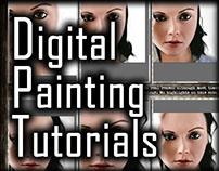 Digital Painting Tutorial: How to Paint Hair - Part 2