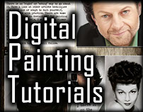 Digital Painting Tutorial: How to Paint Hair - Part 1