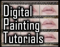 Digital Painting Tutorial: Lips v1