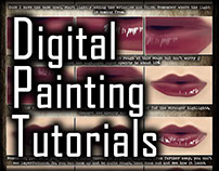 Digital Painting Tutorial: Lips v2