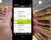 Grocery Store - List View Design