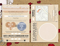 Wedding Invite: Typography