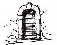 Drawning Rocca Calascio