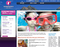 Hawaiian Airlines Online Campaigns