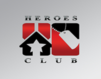 Heroes Club Las Vegas, Logo Design