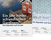 Plakate zum Erasmusprogramm | Freie Universität Berlin