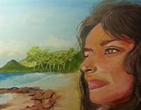 Fijian Island Woman