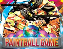 Paint Ball Flyer