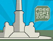 FREE WiFi  COMUNE DI MASSA - CARTELLONISTICA e MINISITO