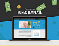 Forex Template Free PSD