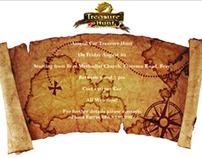 Treasure Hunt Leaflet