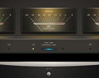DENON POWER AMP POA - A 1 HDCI - Adobe Fireworks vectos