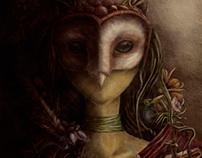 Reina Búho (Serie máscaras)