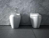 Jacuzzi Morphosis Wall Mounted Bidet & Toilet