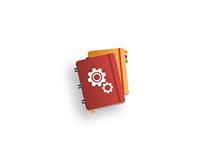 Manuales y Guias, icon design