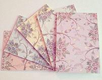 Shiv Illustration / Floral Pattern Greeting Cards