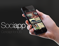 Sociapp - Social manager application