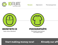 ADffiliate - Landing Page
