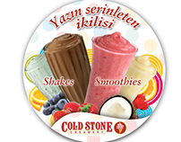 Cold Stone Creamery Shake & smothies POP
