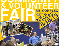 [VU Community & Volunteer Fair]