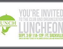 [VU Club/Organization Luncheon Invitations]