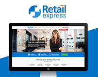 Retail Express Website Design