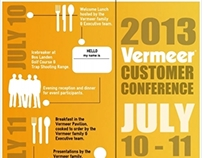 Vermeer Customer Conference Infographic