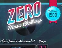 App Facebook Music Challenge Zero