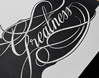 Hand lettering since Nov 2012 -  Dec 2013
