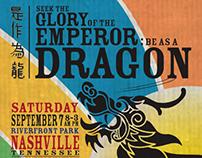 Nashville Dragon Boat Race Poster