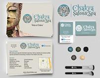 Chakra Salon & spa Identity Kit