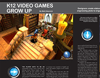 video game story layout