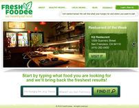 FreshFoodee Brand Identity & Website
