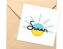 """Motif """"Summer"""""""