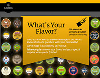 Keurig Find Your Flavor Quiz