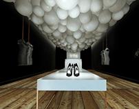 fashion store interior project
