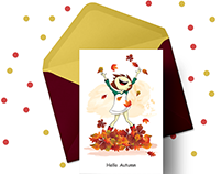 illustration/Thematic Greeting cards